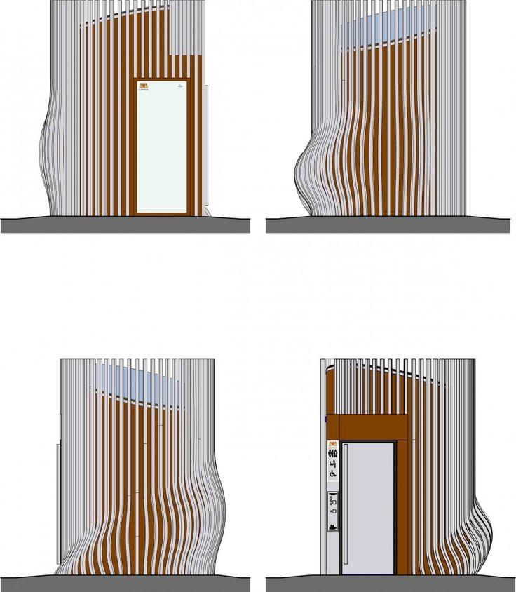 Public Toilet Unit / Schleifer  Milczanowski Architekci