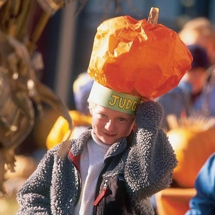DIY Halloween : DIY Craft: Pumpkin Hat