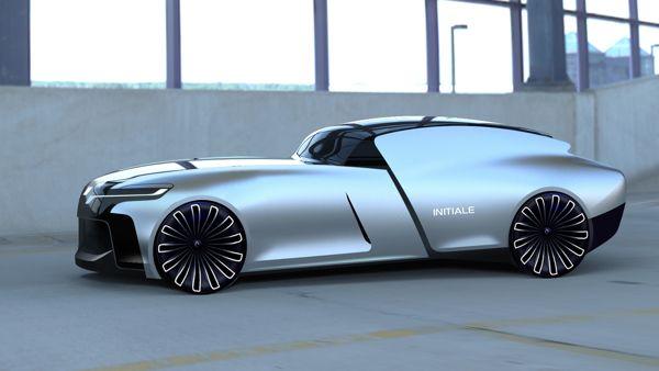 Renault Initiale by Identiti Design Studio, via Behance