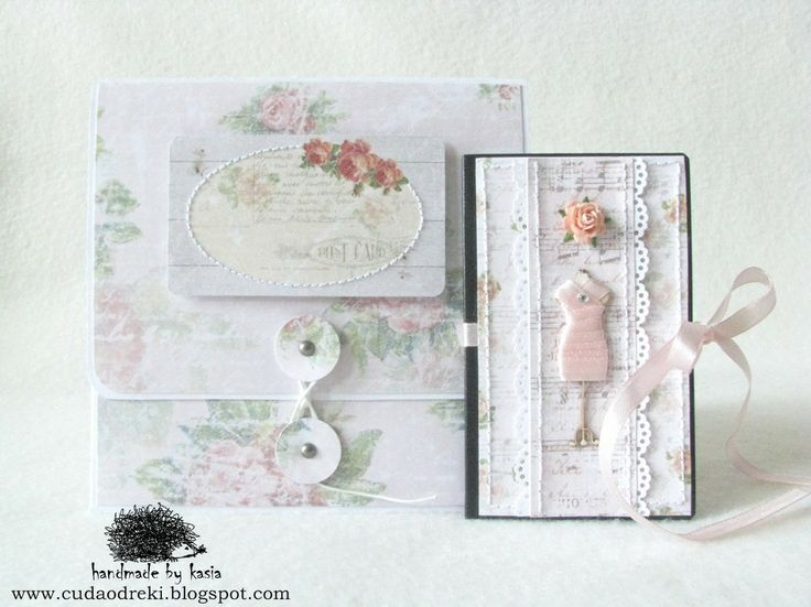 DIY, rose, cd box, folder CD & mini notebook by cuda od ręki