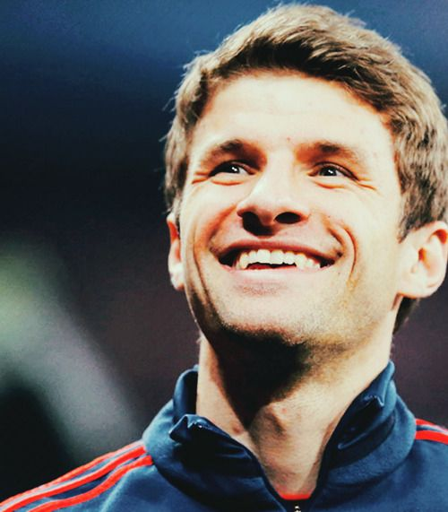 Thomas Muller..I can't get enough of him! <3