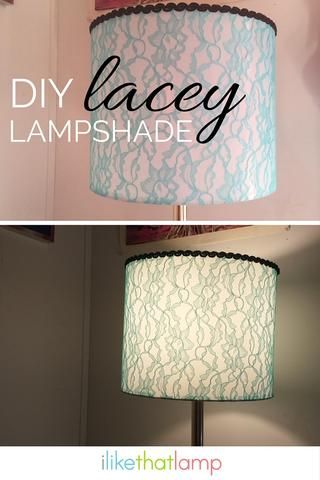 17 Best ideas about Lampshade Kits on Pinterest | Painting lamp ...:Customer Project Feature: Heather's Lacey Shade. Lampshade CheckLacey  LampshadeLampshade ProjectDiy ...,Lighting