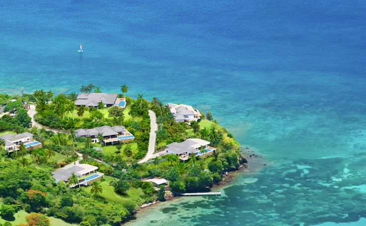 """Here's the ultimate way to unwind and experience the beauty of Grenada, the Caribbean's lush and fragrant """"Isle of Spice."""" Each of the seven luxurious private villas at Laluna Estate--perfectly positioned along five acres of prime waterfront land--is designed to offer a warm and intimate atmosphere where you can share memorable moments with family and friends."""