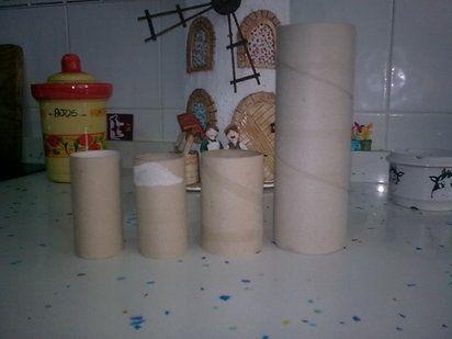 tejas decoradas en relieve,paso a paso de un pozo
