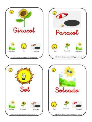 Baraja familias lexicas little