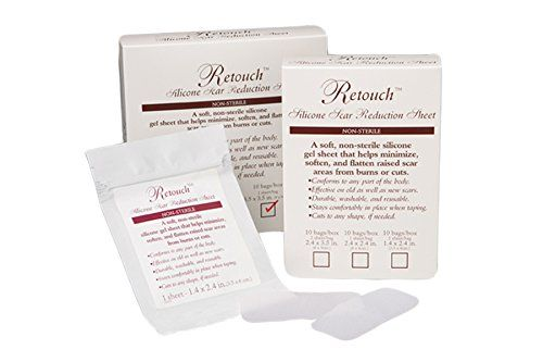 RETOUCH Silicone Scar Reduction Sheets Medium Breast Anchor >>> Be sure to check out this awesome product.