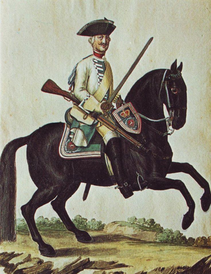 Hanover in the Seven Years War: Dragoon Regiment von Walthausen by Karsten