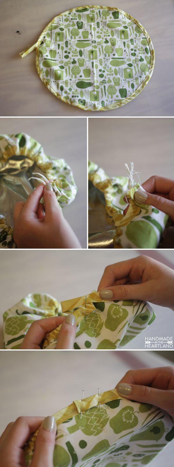 Mybotang fabric scrap series cards - How To Make A Mixing Bowl Cover