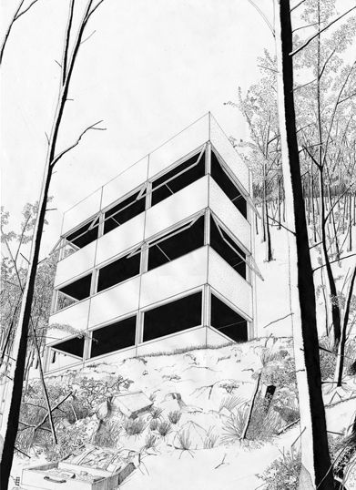 Best Hand Drawn Architecture Renderings And Presentations