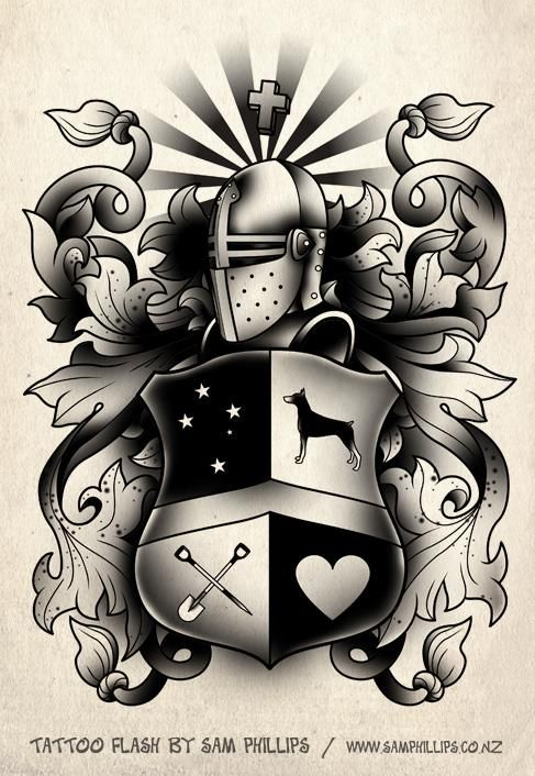 38 best images about Tattoos on Pinterest | On back, Crests and ...