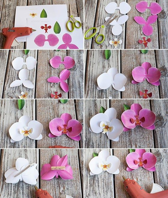 DIY FLORES DE PAPEL | Photography And Art Barcelona