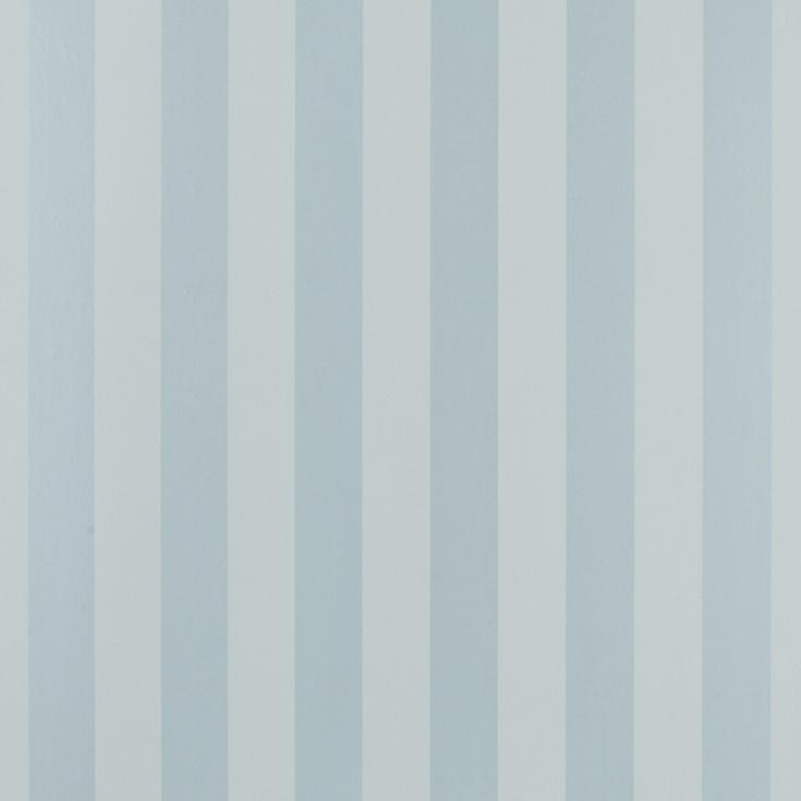 Laura Ashley Lille Stripe Wallpaper Duck Egg