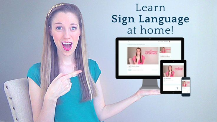 How to Learn Sign Language Online Free | Synonym