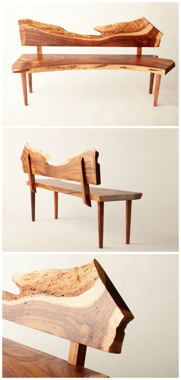 Live edge Black Acacia bench AKA California Koa. Custom joinery. Fine Furniture. San Diego.