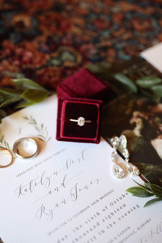 Idées de photographie de mariage, Alabama Photographie de mariage – Velvet Ring Boxes