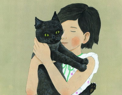 "by Taiyo Matsumoto - Megumu from ""Sunny"" (for the magazine 'IKKI' published by Shogakukan)"