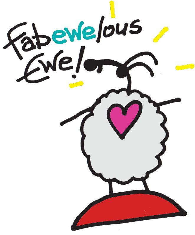 """""""Fabewelouse Ewe!"""" by Ann Gadd"""