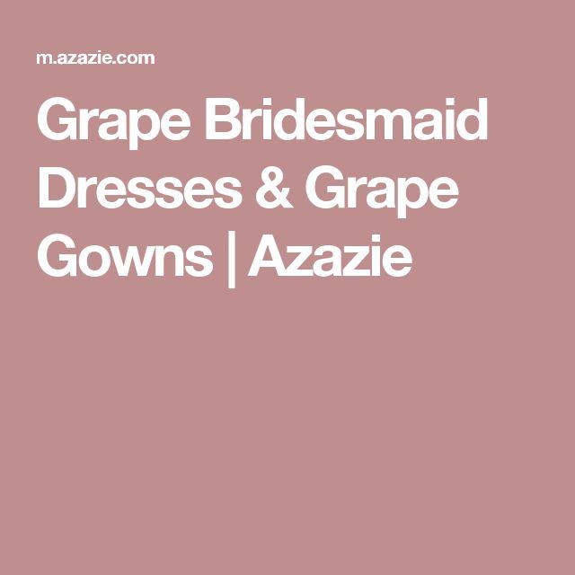 Grape Bridesmaid Dresses & Grape Gowns | Azazie