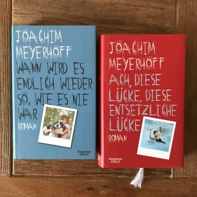 Die Bücher von Joachim Meyerhoff