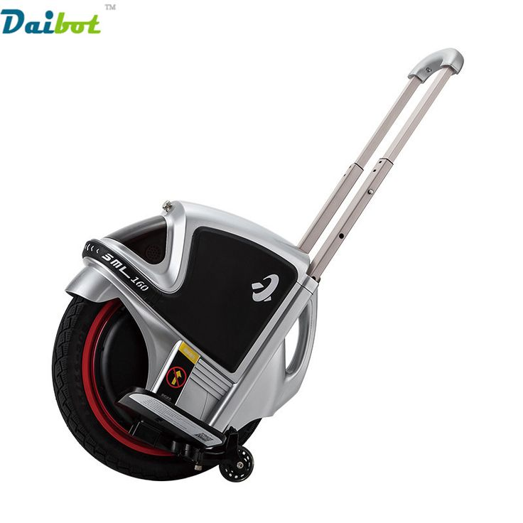 16 Inch One Wheel Electric Scooter Skatebaord Hoverboard unicycle monocycle monowheel with push rad handbar //Price: $597.99//     #electonics
