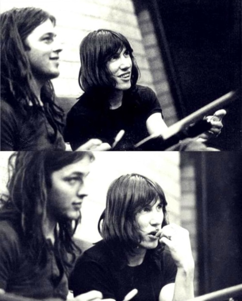David Gilmour and Roger Waters - I love this planet.