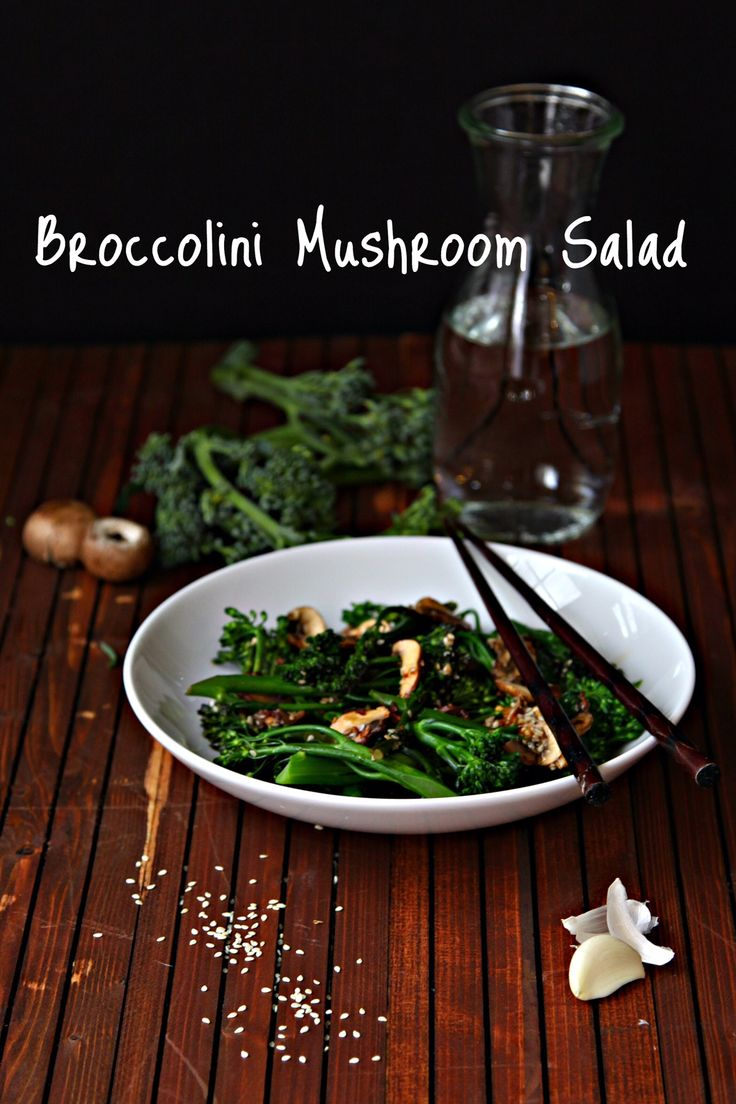 Looking for a healthy, yet flavorful spring side? This 'shroom salad from @bellalimento is sure to impress! #MightyMushrooms