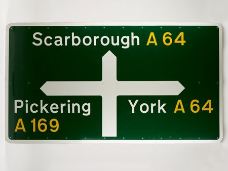 Margaret Calvert and Jock Kinneir's motorway signage system of the 1960s features at the new Design Museum exhibition