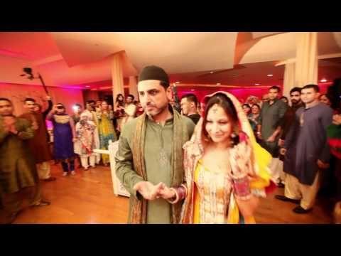 Komal & Farhan's Mehndi Night Live Pakistani Montreal Wedding | Mediavision Cinematography - YouTube
