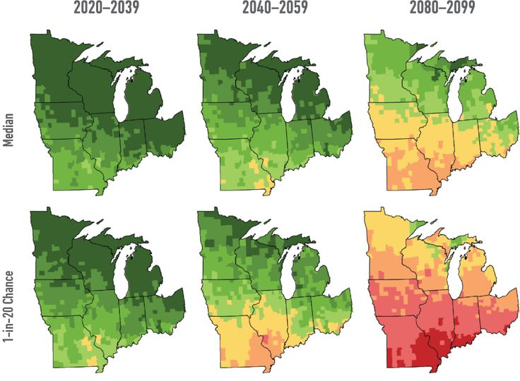 Heat in the Heartland: Climate Change and Economic Risk in the Midwest | Risky Business