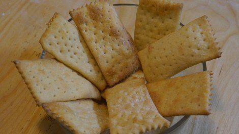 Ricetta Crackers - VivaLaFocaccia - Le Ricette Semplici per il Pane in Casa