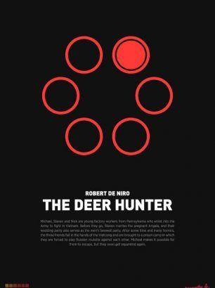 """The Deer Hunter"" - Størrelse: 70cm x 100cm / A3"