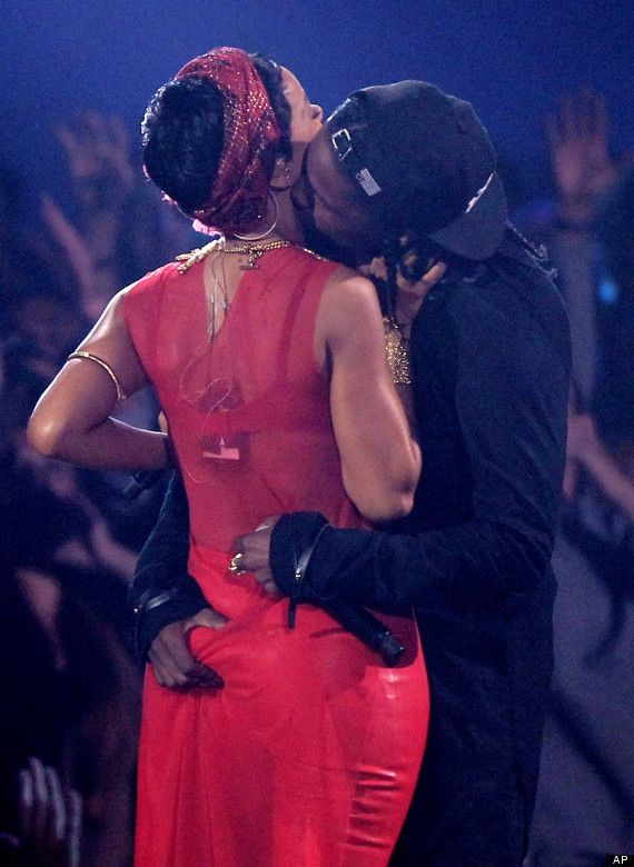 Rihanna's Butt Grabbed At VMAs: A$AP Rocky's Shocking Move At Video Music Awards