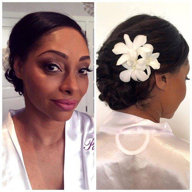 maui wedding hair and make