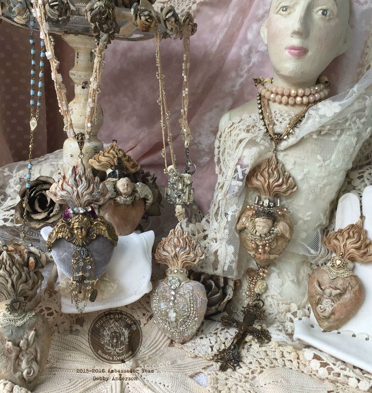 Relics and Artifacts Sandra Evertson hearts