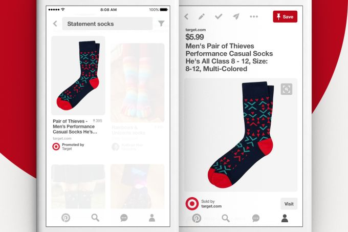 Pinterest opens up search advertising in its Ads Manager