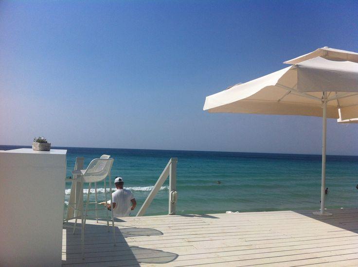 Bousoulas beach bar, Sani Resort, Halkidiki, Greece