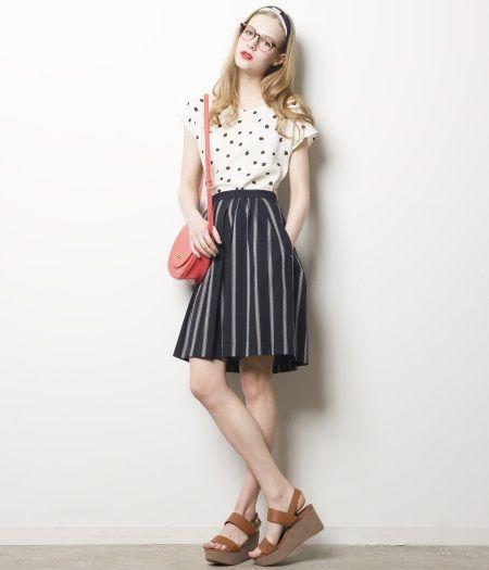 ポップにも見せるポルカドットコーデの参考にしたいスタイル・ファッションアイデアまとめ♡
