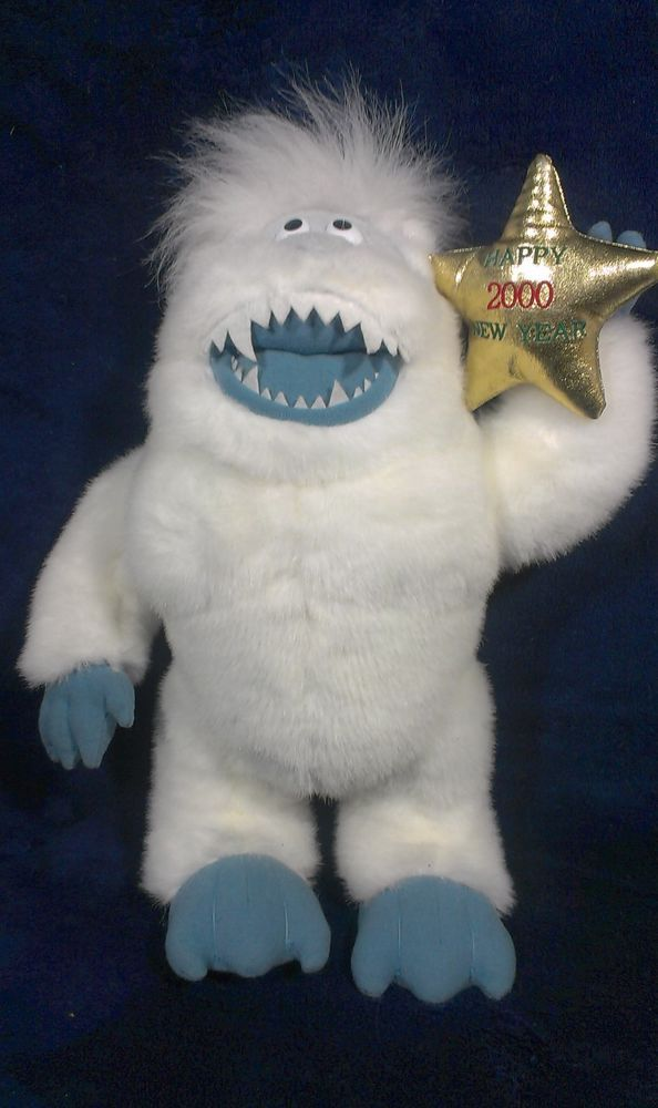 Stuffins 2000 Abominable Snowman BUMBLES Rudolph & Land of Misfit Toys Plush  #Stuffins