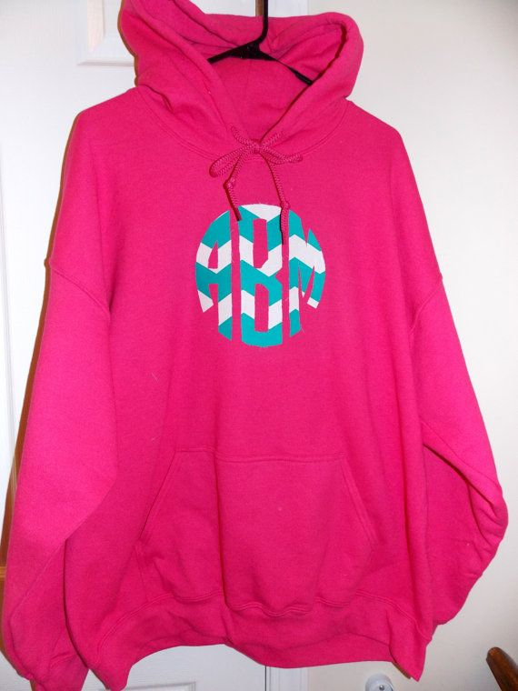 Monogram Sweatshirt @Mandy Bryant Bryant Bryant Johnson  I want one of these!!!! :)