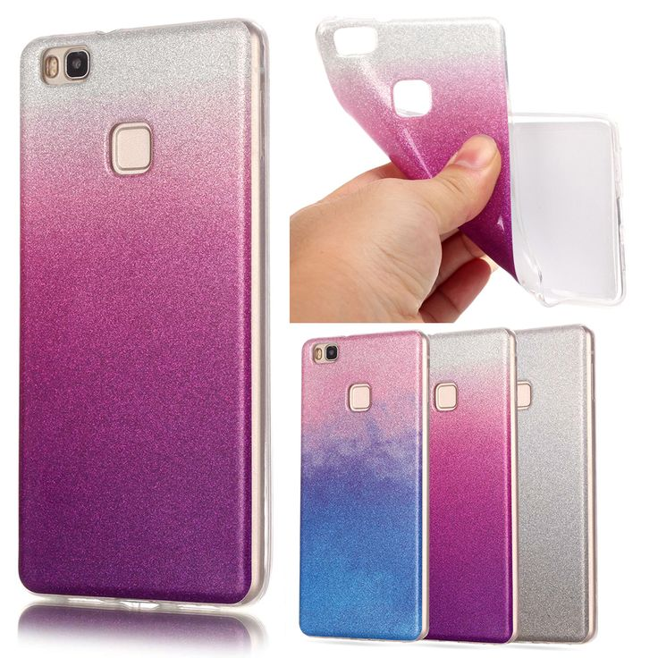 For Huawei P9 Lite Case Silicon Glitter Cover For Huawei Ascend G9 P9 Lite VNS-TL00 VNS-AL00 Venus Luxury Phone Case Soft Fundas