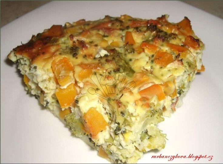 Výborný oběd, který se dá jíst i studený. http://rurbanczykova.blogspot.cz/2013/09/brokolicovy-nakyp.html