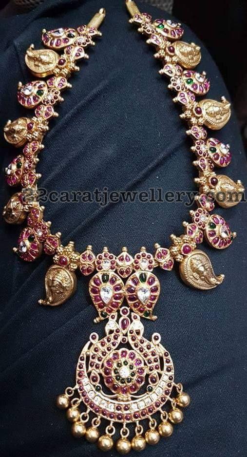 Mango Necklaces in Silver - Jewellery Designs