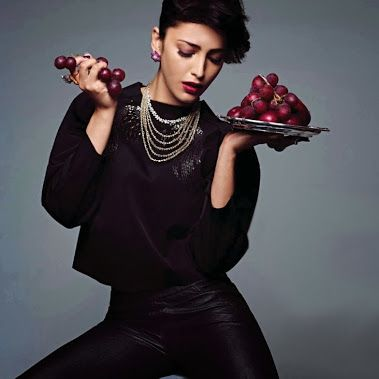 [Full Set] Shruti Hassan's Grazia Magazine Scans. - October 2013.