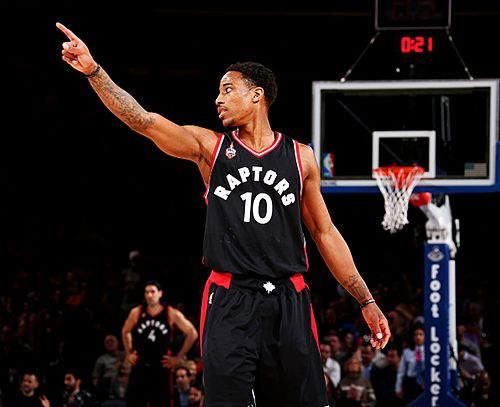 With 233 victories,DeMar DeRozan now has the most wins as a Raptors player, moving past Chris Bosh and Morris Peterson.