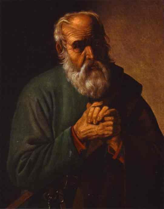 georges de la tour | St. Peter - Georges de la Tour - WikiPaintings.org