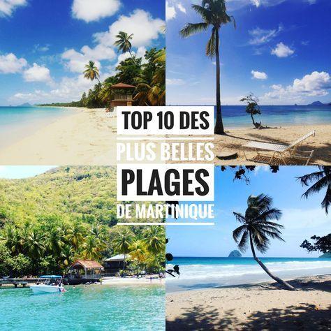 Eau translucide, cocotiers penchés sur l'eau, sable blanc, blond, gris ou noir, les plages de Martinique ont toutes un air de paradis. Translucent water, coconuts inclined toward the sea, wh…