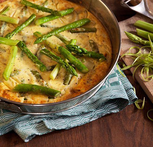 Spargel-Frittata mit Pecorino | Blog Köstlich Vegetarisch