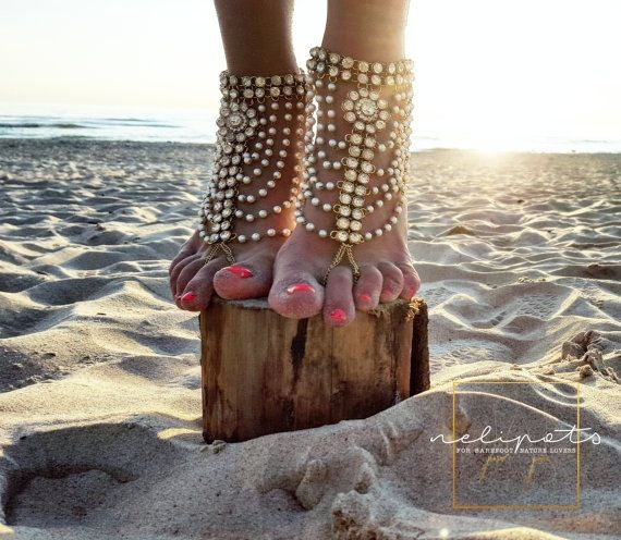 Hoi! Ik heb een geweldige listing op Etsy gevonden: https://www.etsy.com/nl/listing/399346977/strand-bruiloft-pearl-barefoot-sandals