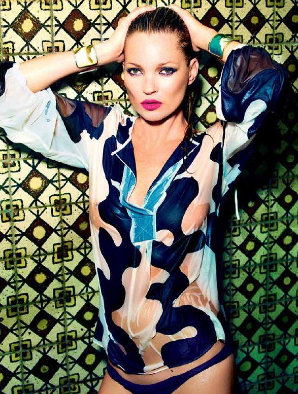 Peep Mario Testino's Steamy Kate Moss Portfolio for Vogue Brazil's 36th Anniversary Issue #Brasil #Brazil #springsummer