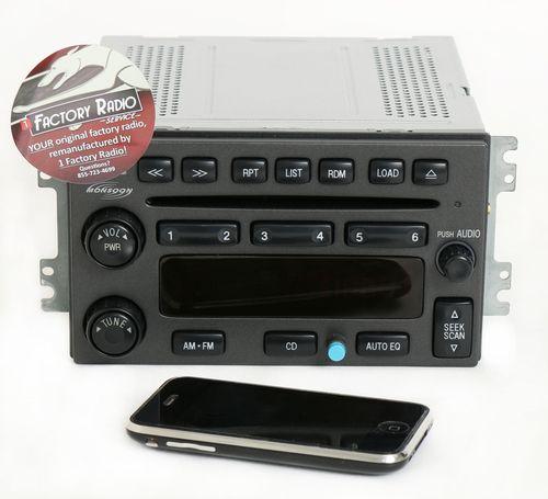 Reman & Bluetooth Mod SERVICE for 2003-06 Hyundai Santa Fe AM FM 6 Disc CD Radio